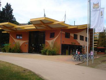 Eingangsbereich Magdeburger Zoo
