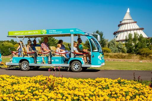 Interner Link: Stadtrundfahrt mit Elbauenpark - Buskombination