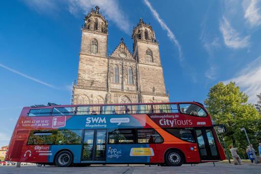 Interner Link: Stadtrundfahrt mit Domführung - 2 h