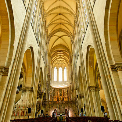 Tour in the Magdeburg Cathedral
