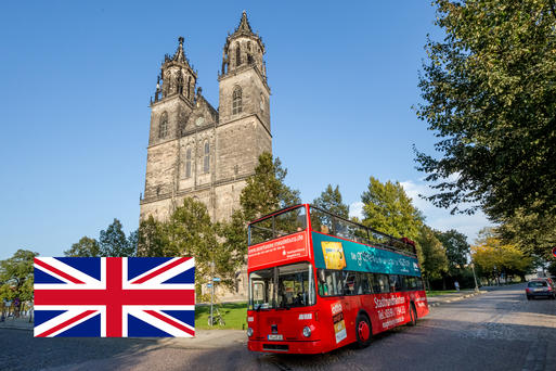 Interner Link: Combination Guided Bus and Guided Tour of the Magdeburg Cathedral - 2 Hours