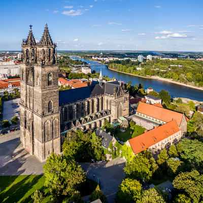 Magdeburg Cathedral, dedicated to St. Maurice and St. Catherine