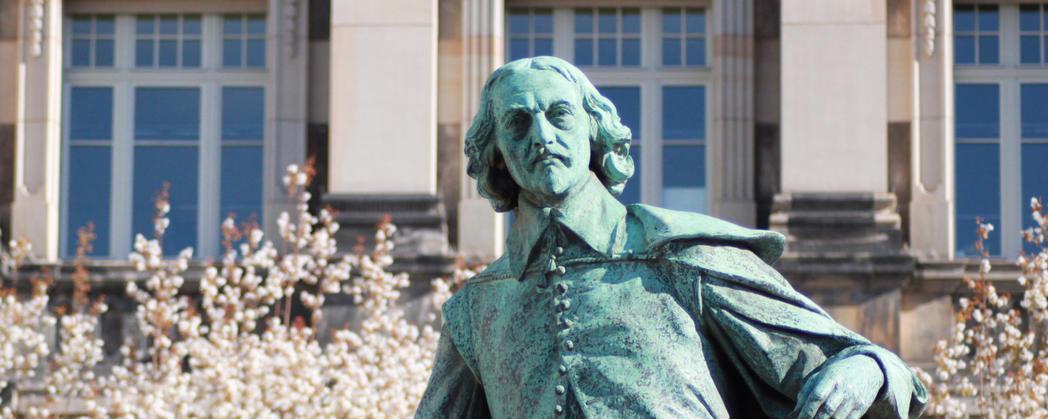 Otto-von-Guericke-Statue ©LH Magdeburg