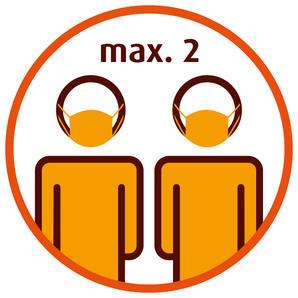 Max 2 Kunden