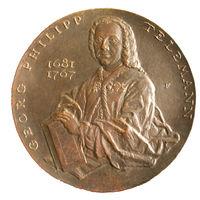 Telemann-Preis, Bronzeplakette