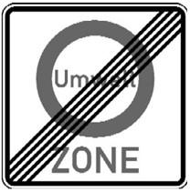 Verkehrszeichen 270.2