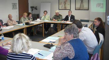 Seniorenforum 2010, Arbeitsgruppen