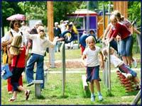 Spiel und Spaß im Elbauenpark, ©Werner Klapper