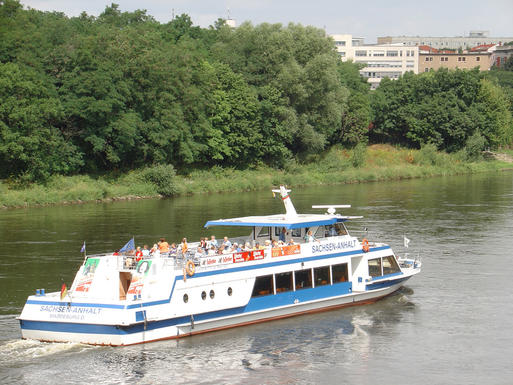 Interner Link: Cruises offered by the Weiße Flotte