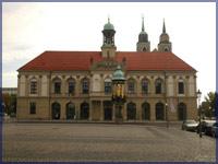 Das Rathaus auf dem Alten Markt, ©HL Böhme