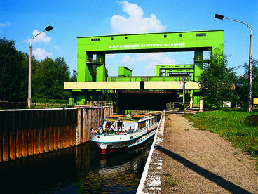 Interner Link: Historisches Schiffshebewerk Rothensee - ab 45 Minuten