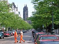 Müllmänner in Magdeburg
